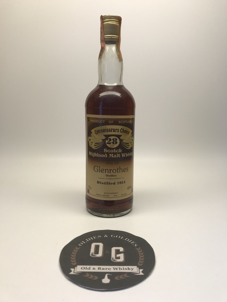 Glenrothes 1954 28y G&M