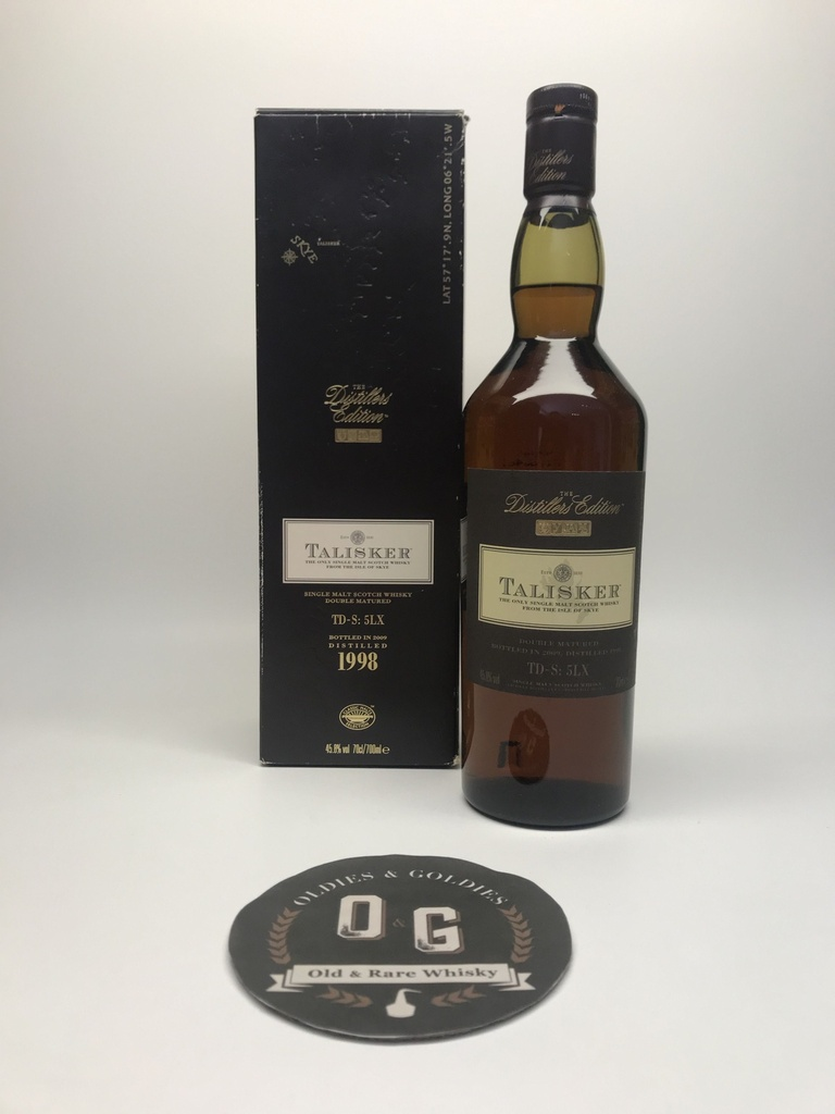 Talisker 1998-2009 Double Matured 45,8% 70cl