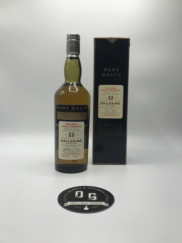 Dailuaine 1973 22y Rare Malts 60,92% 75cl
