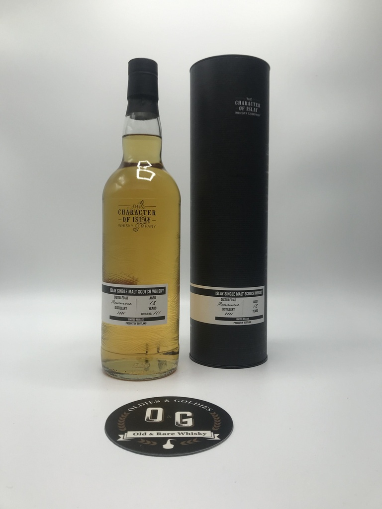 Bowmore 18y 2001 (The Character of Islay) 70cl 55,4%