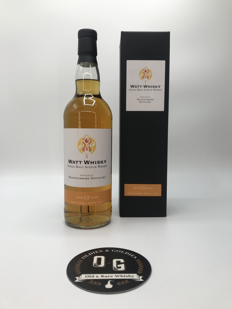 Mannochmore 12y 2008-2020 (Watt Whisky) 70cl 54,8%