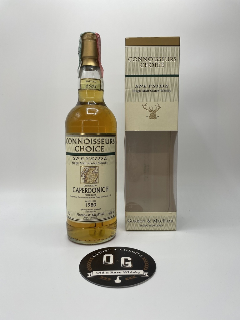 Caperdonich 1980/2003 G&M 46% 70cl
