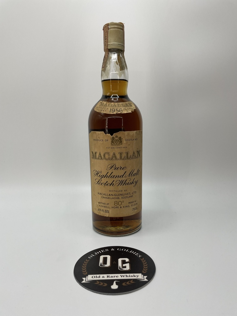 Macallan 1956 15y (Campbell Hope & King) 45,4% 75cl