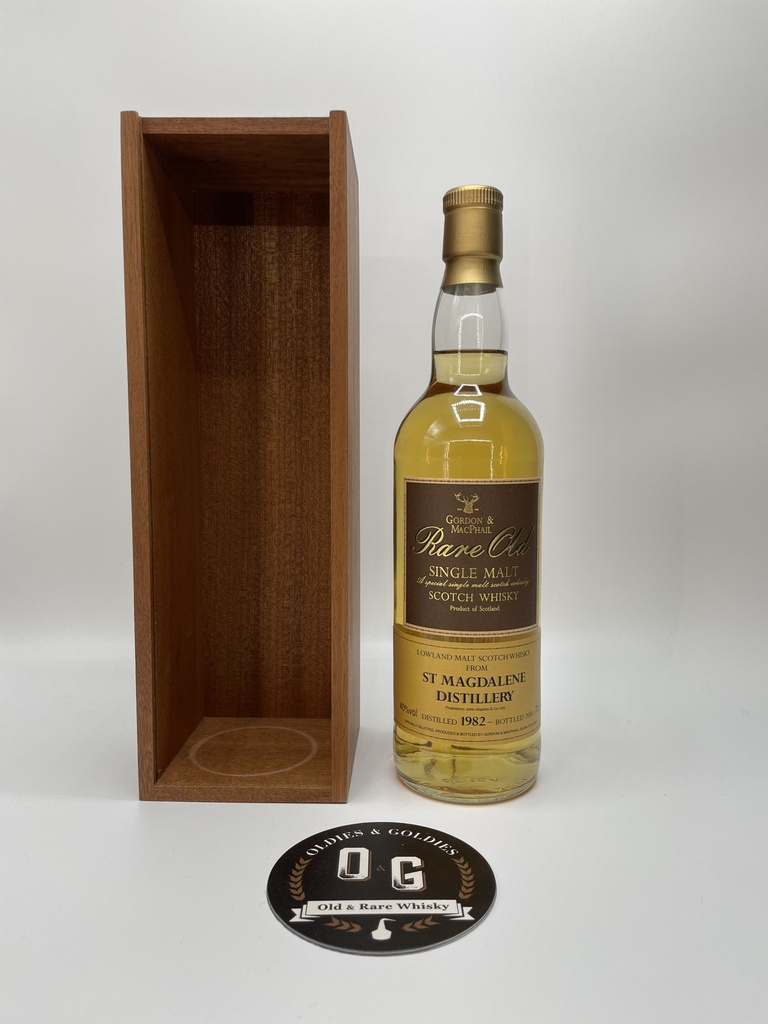 St Magdalene 1982 (G&M Rare Old) 70cl 40%
