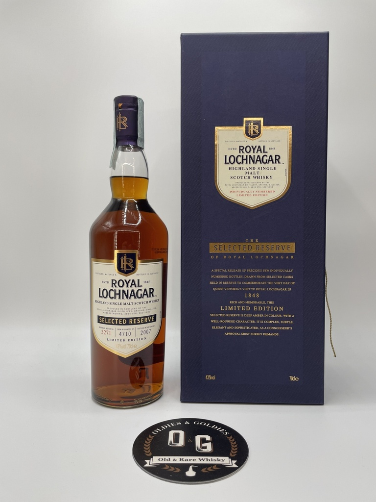 Royal Lochnagar (Selected Reserve) 70cl 43%