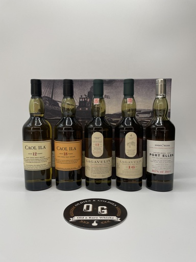 Port Ellen 28y 7th release OB (with Islay Collection Pack) 5x20cl